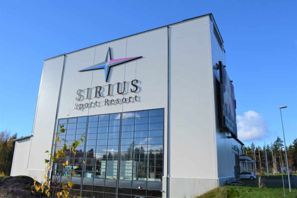 Sirius Sport Resort: surffaus, tuulitunneli, kiipeilypuisto.
