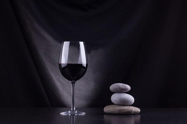 Wine in the dark