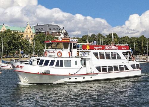risteily Helsingin kauppatorilta