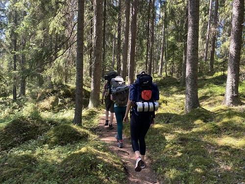Vaellus Isojärven kansallispuistossa
