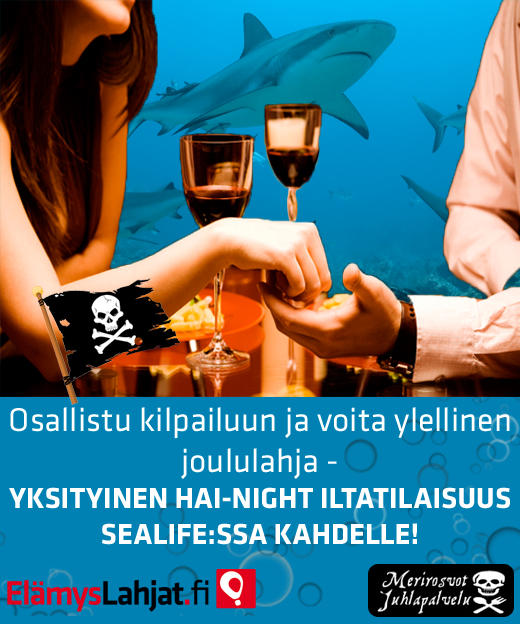 ElämysLahjojen SeaLife-kilpailu